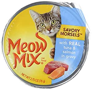 meow mix wet food