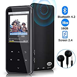 Image of the product MP3 Player 16GB Bluetooth that is listed on the catalogue brand of PiAEK.
