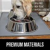 Gorilla Grip Silicone Pet Feeding Mat, Easy