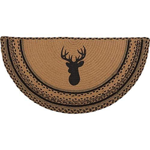 Deer Semicircle Rug 16.5