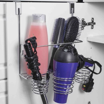 home-basics-over-the-cabinet-hairdryer-holder-organizer-in-chrome