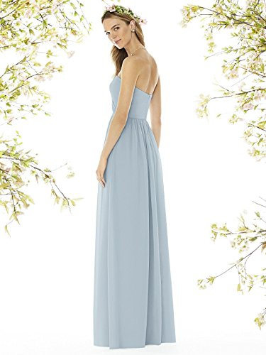 9fe454cd63c5 Home/Brands/Mikado/SOCIAL BRIDESMAIDS Style 8159 Floor Length Nu-Georgette  Princess Line Formal Dress – Strapless Sweetheart Neckline – Mist – 0. ; 