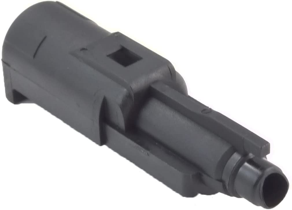 We Airsoft - Pistol Loading Nozzle para G18 (Repuesto de 6 mm), Color Negro