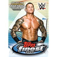 $24 » 2020 Topps FINEST WWE Wrestling Series Unopened Blaster Box of Packs with 2…