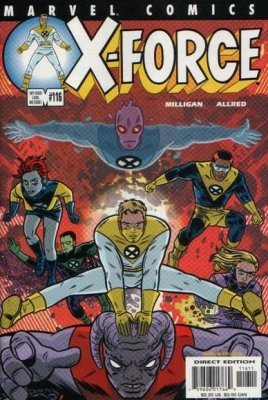 X-Force Volume 1 Issue 116 May 2001 [Comic] by Peter for sale  Delivered anywhere in USA
