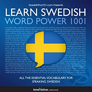Learn Swedish - Word Power 1001 Audiobook