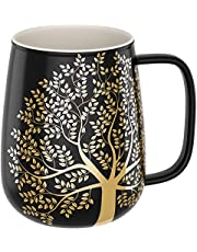 amapodo Koffiemok groot met handvat - Jumbo koffiemok - XXL kantoor koffiemok - cadeau-idee voor vrouwen en mannen