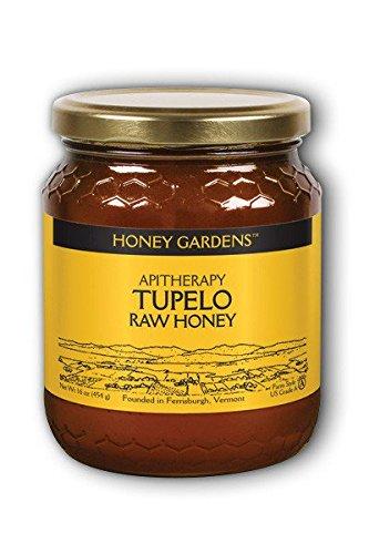 Raw Honey Tupelo (Natural) Honey Gardens 1 lb Liquid