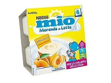 Nestlé My Merenda Milk Apricot 4x100g