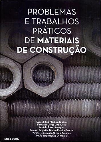 Problemas e Trabalhos Práticos de Materiais de Construção - 9789897232145 -  Livros na Amazon Brasil 1fde034281