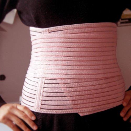 Respirant élastique post-partum postnatal Soutien Ceinture Ceinture Poster Band grossesse Belly femmes abdominale Binder pour les femmes de la maternité - Taille M Medium (M)