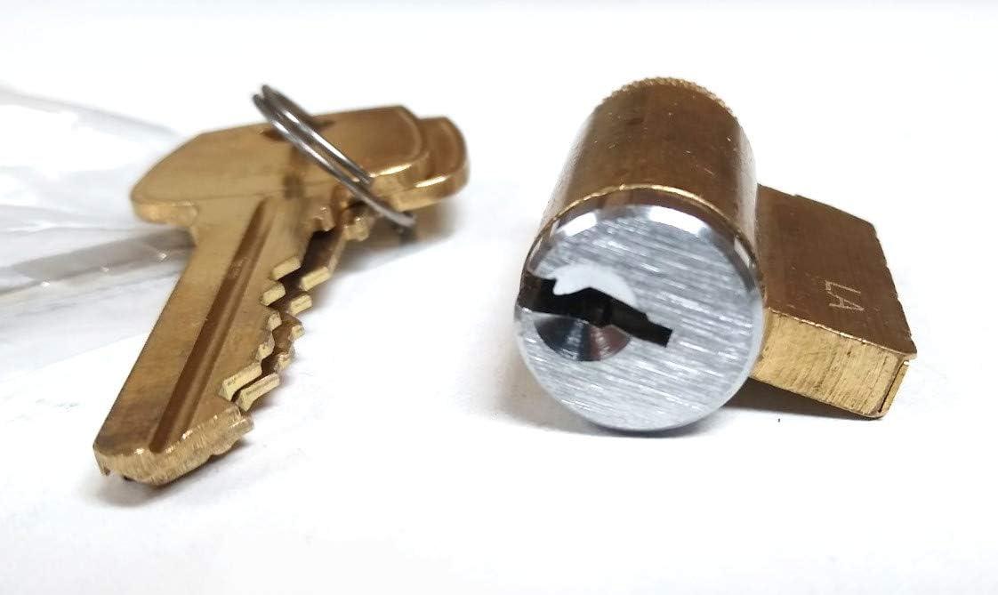 Lever Cylinder with Sargent LA-LD Keyway for Schlage Locks GMS K001 Knob