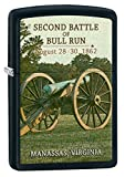 Zippo Lighter: Civil War, Second Battle of Bull Run - Black Matte 77271