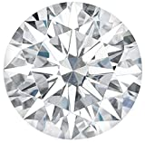 Arya's C ROUND Cut Loose Real Moissanite, Use for Pendant/Ring Genuine Near White Color, 1ct to 3ct, Near white, moissanite, Why pay so high when you get same quality for less (1)