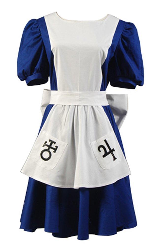 American McGee's Alice Alice Cosplay Kostüm Kleid M