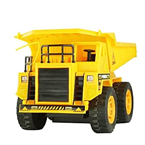 5 Channel Wireless Remote Control Construction Dump Truck Toys Perfect Gift Box for Boys