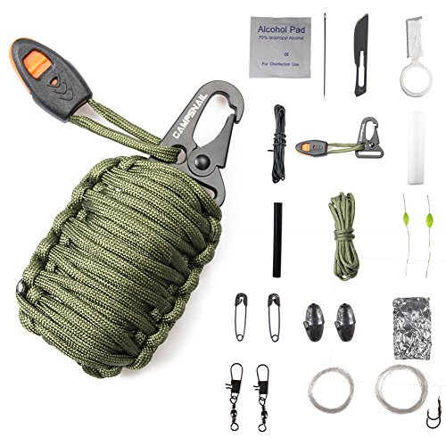 how to make paracord grenade survival kit