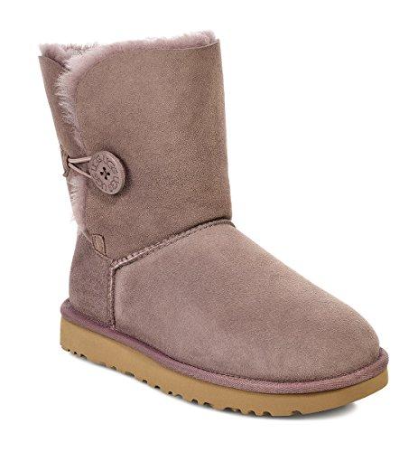 Women's Grey Ugg Boots Button Bailey Australia 8Pnwqtv