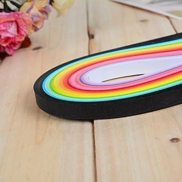 Rungao 260 Piezas de Papel para Quilling 26 Colores DIY Papel decoraci/ón Alivio de presi/ón Regalo