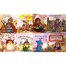 8 Favorite Little Critter Books Just for You: Just for You/Just Me and My Dad/I Was So Mad/Just Grandma and Me/When I Get Bigger/Just Go to Bed/Me T