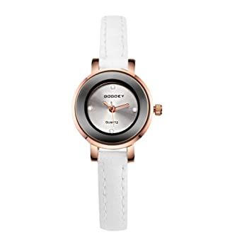DLLXXZ Relojes Moda Reloj Mujer Casual Relojes Breves Reloj ...
