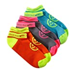 Zumba Fitness Women's Splash Sock-Pack of 3 (Multi, One Size)