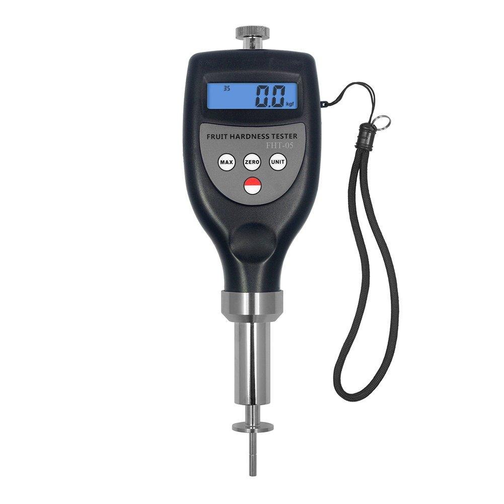 FHT-05 Fruit Hardness Gauge Compact Penetrometer Sclerometer 0.2~5.0 kgf/cm² for Strawberry Pear Avocado Vegetable