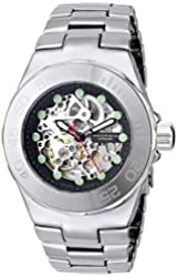 ANDROID Men's AD706AK Hercules Analog Automatic-Self-Wind Silver Watch