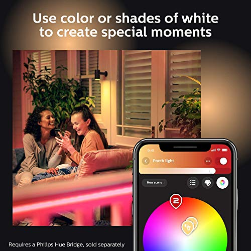 Philips Hue White & Color Ambiance Outdoor LightStrip 5m/16ft (Requires Hue Hub, Works with Amazon Alexa Apple HomeKit and Google Assistant) (Renewed) by Philips Hue (Image #8)
