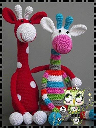 JIRAFA AMIGURUMI PERSONALIZABLE (Bebé, crochet, ganchillo, muñeco, peluche, niño,