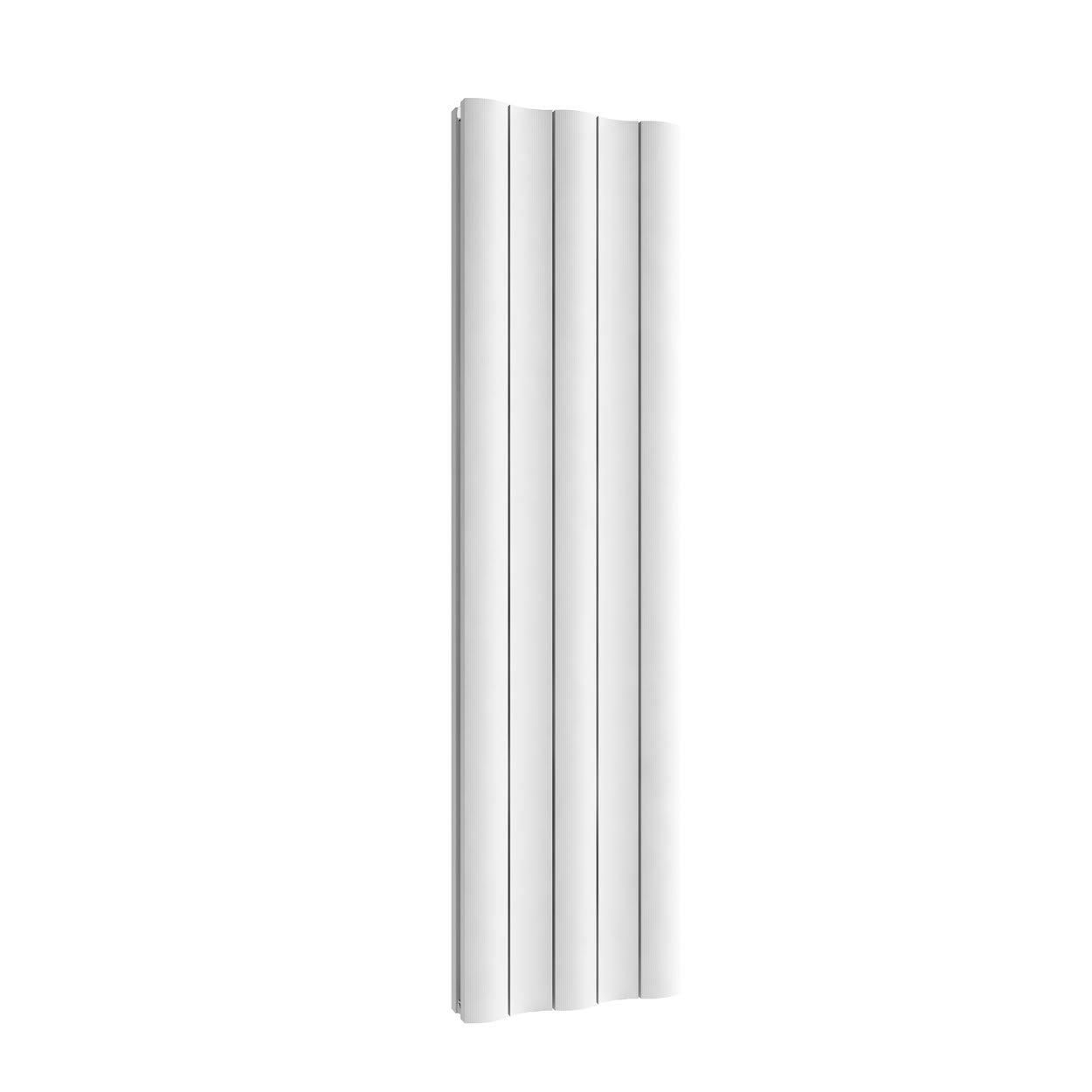 Reina A-GI518WD Gio Doppelheizkörper vertikal, 30 kg, Weiß