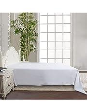 Siexa Lakan Vitt - 100% Bomull - 240x260cm - 300TC. Exklusivt lakan i finaste satinvävd bomull med en trådtäthet på hela 300 TC. Detta är ett sänglakan som ger en känsla av lyx och förgyller din sovupplevelse.