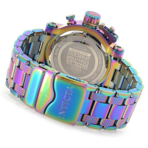 Invicta Men's 'Coalition Forces' Quartz Stainless Steel WatchMulti Color (Model: 26507)