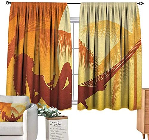 ParadiseDecor Beach Drapes - Cortinas Decorativas, diseño de ...