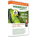 Webroot Internet Security Plus 2017 | 3 Devices | 2 Year | PC [Download]