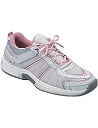 Tahoe Womens Comfort Wide Orthopedic Diabetic Orthotic Athletic Shoe