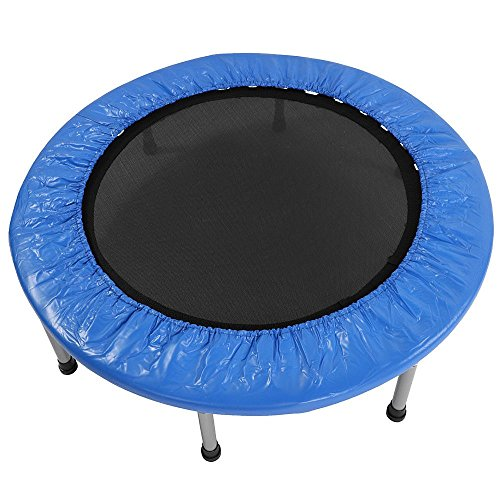 "Cirocco 38"" Mini Band Trampoline Round Bouncer with Padding & Springs 