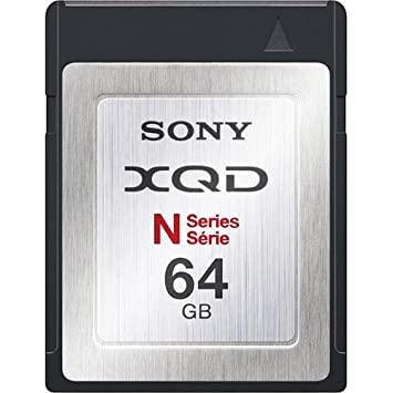 Amazon.com: Sony 64 GB XQD tarjeta: Computers & Accessories