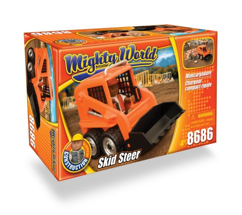 Truck World Mighty Construction (Mighty World Skid Steer Set)