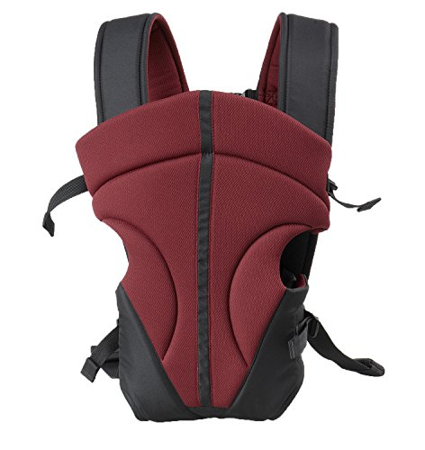 Babyhelp Breathable Cotton lining Soft Carrier(Red)