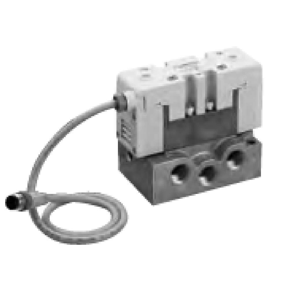 CKD Corporation PV5-8R-FIG-D-TC Pilot Operated 5-Port ISO Valve, 3-Position PAB