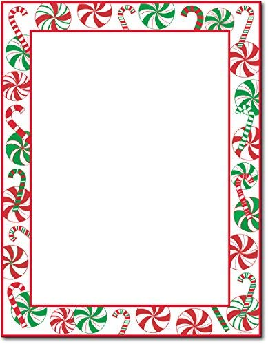 Peppermints Party Holiday Stationery - 80 Sheets by Great ()