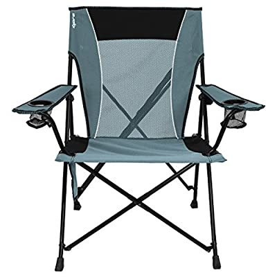 Kijaro Dual Lock Portable Camping and Sports Chair from Denovo Brands LLC