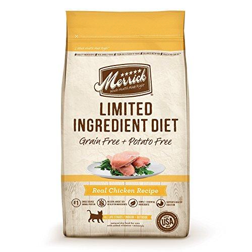 Merrick Limited Ingredient Diet Grain Free Chicken Cat Food,