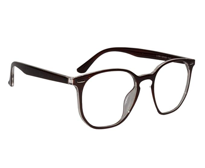 0b1947cc8ef Peter Jones Stylish Brown Square Unisex Optical Frame (106BW ...