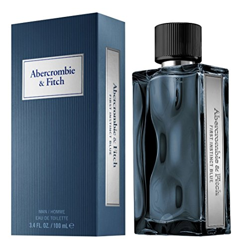 Abercrombie & Fitch First Instinct Blue for Men Eau de Toilette Spray, 3.4 Ounce
