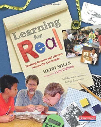 Learning for Real: Teaching Content and Literacy Across the Curriculum