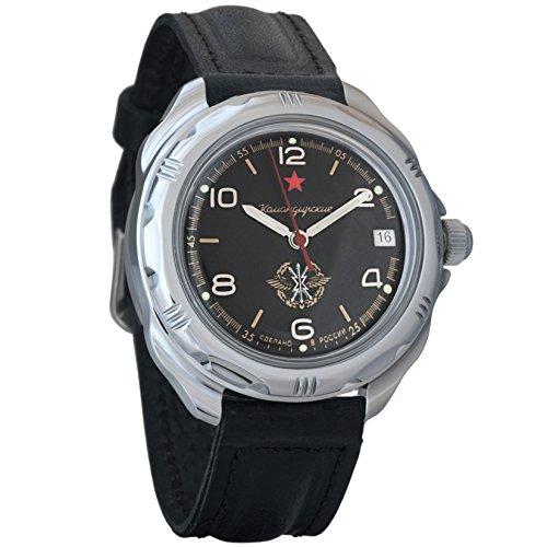 Vostok Komandirskie Commander Russian Army Mens Mechanical Military Wrist Watch #211296 ()