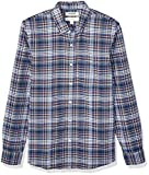 Amazon Brand – Goodthreads Men's Slim-Fit Long-Sleeve Plaid Oxford Shirt