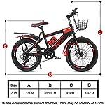 JXH-Bambini-Freni-a-Doppio-Disco-Montagna-velocit-di-Corsa-della-Bicicletta-Uomini-e-Le-Donne-Piccole-e-Medie-Big-Allievi-dei-Bambini-6-13-Anni-Biciclette-Giovent